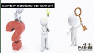 problemer eller løsninger - tune hein - hein og partnere